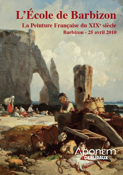 Vente aux encheres l cole de barbizon la peinture for Barbizon peintre