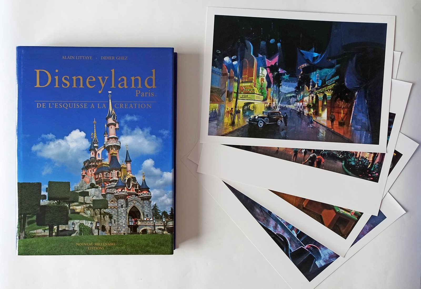 Livre Disneyland Paris De L Esquisse A La Creation Edition Collector Originale