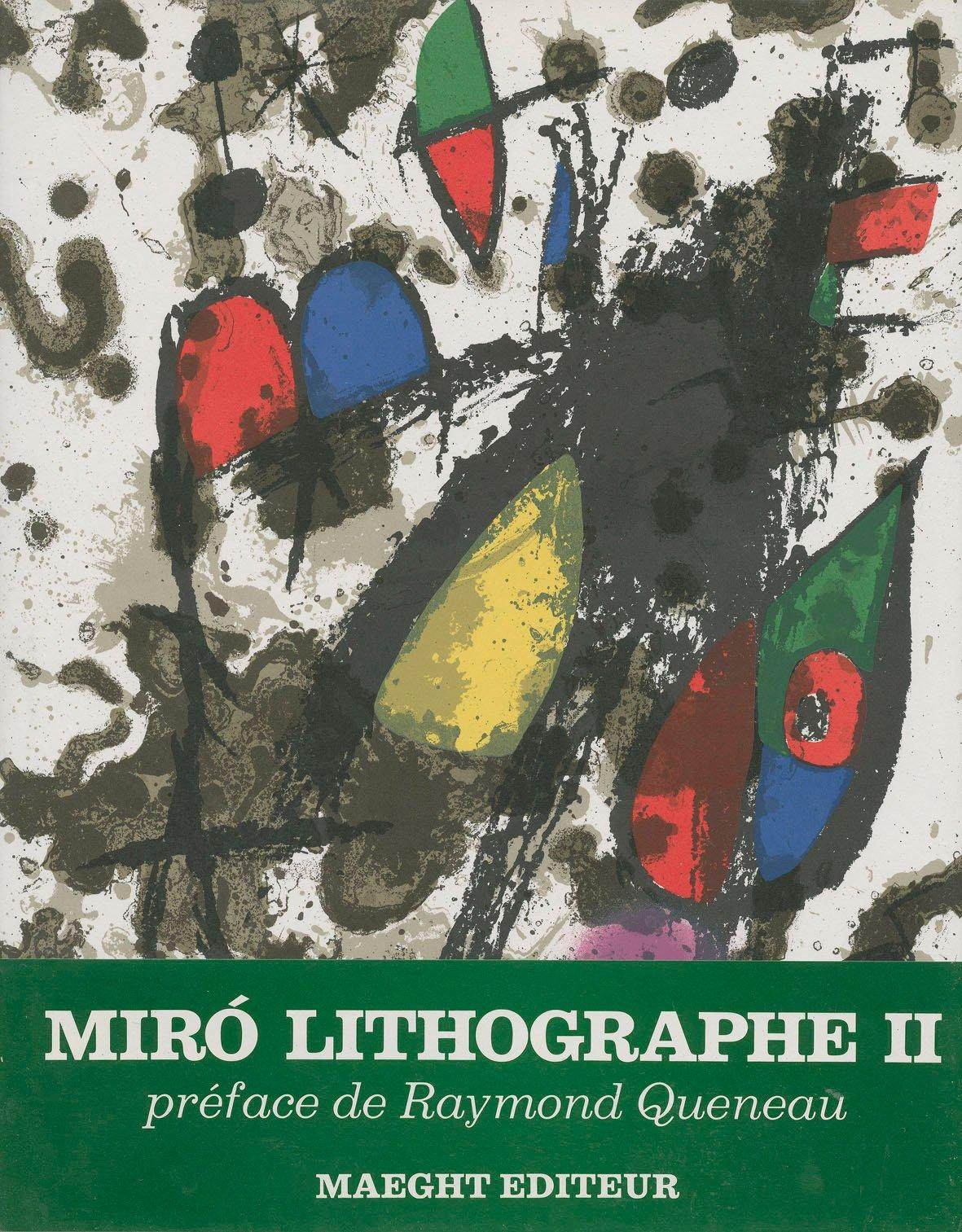 Miró lithographs (lithographe) II, 1953-1963