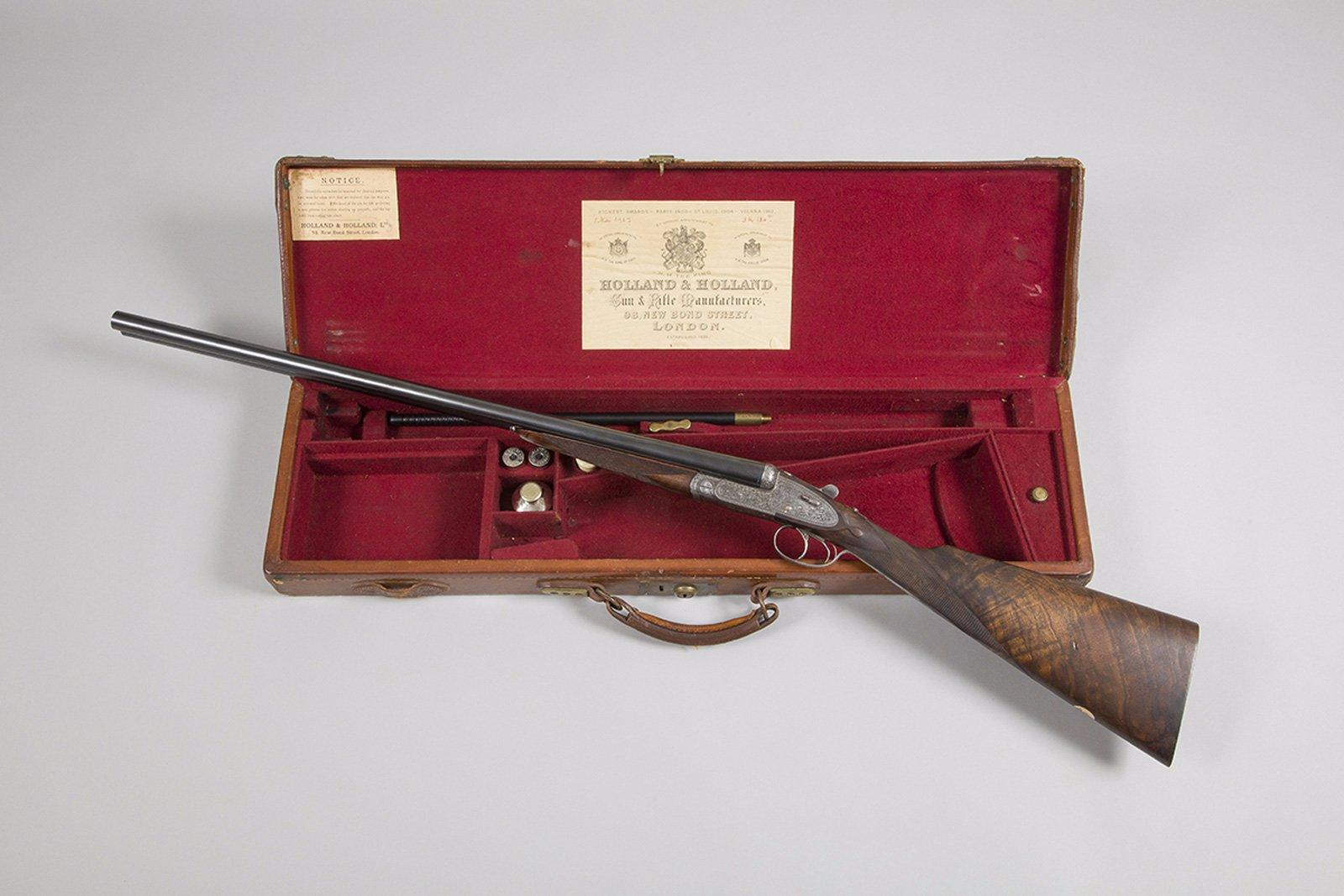 03b2f4310e2 Fusil de chasse à platines Holland   Holland « Royal Hammerless Ejector »
