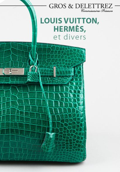 Louis VUITTON, HERMES et divers