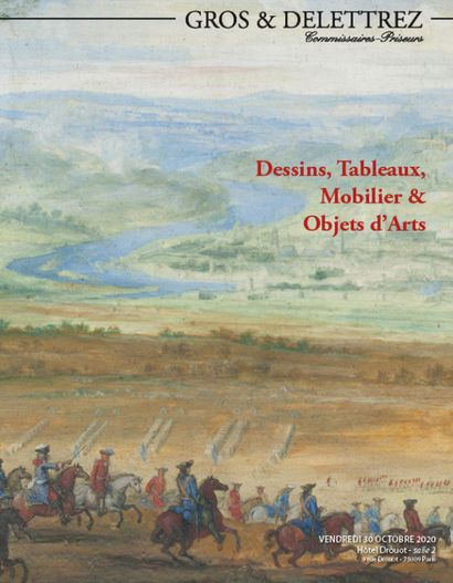 [LIVE AUCTION] Drawings, antique paintings, furniture & art objects