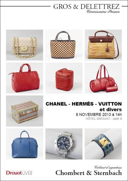 CHANEL - HERMÈS - VUITTON et divers