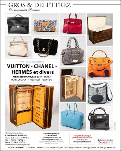 VUITTON - CHANEL - HERMÈS et divers