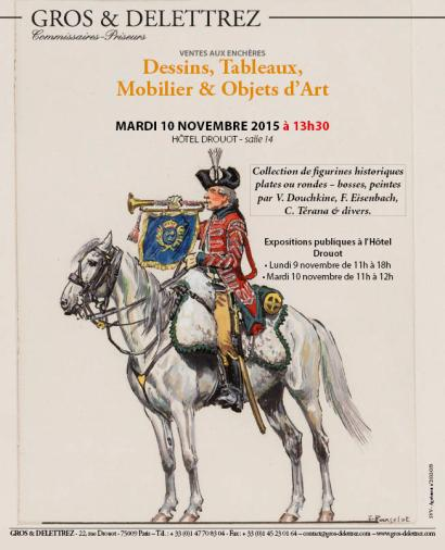 Dessins, Tableaux, Mobilier, Objets d'Art & Figurines