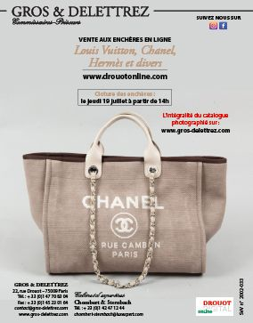 Louis Vuitton, Chanel, Hermès et divers