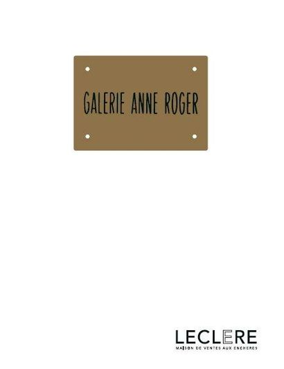 ART CONTEMPORAIN - Collection Anne Roger