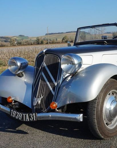 CITROEN TRACTION 11 BL - 1939 - Cabriolet