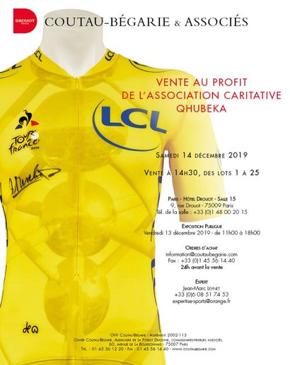 Sale for the benefit of the Qhubeka Charitable Association