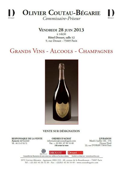 Grands vins - Vente en direct