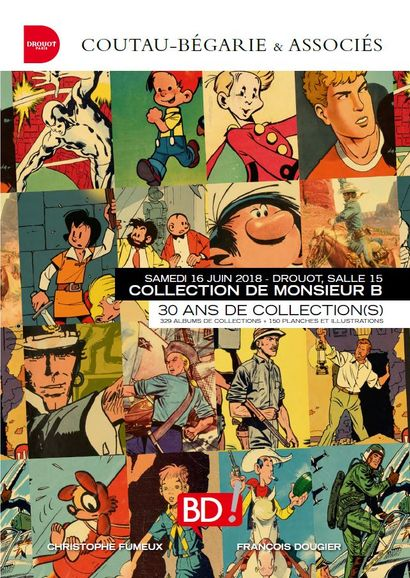 BANDE DESSINÉE - LA COLLECTION DE MONSIEUR B.à 11h et 13h30