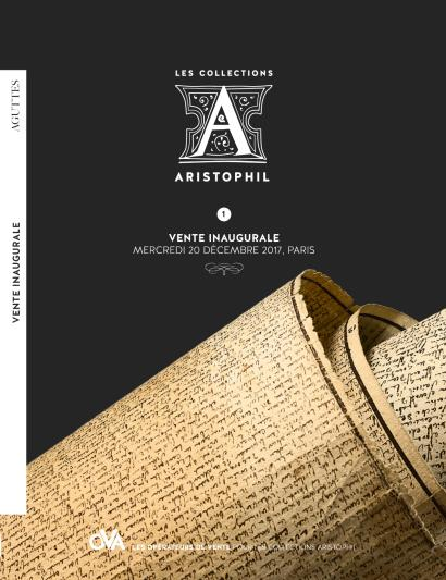 LES COLLECTIONS ARISTOPHIL  • 1 •  VENTE INAUGURALE  ///   Aristophil世界名人手札收藏 • 1 • 开幕专场