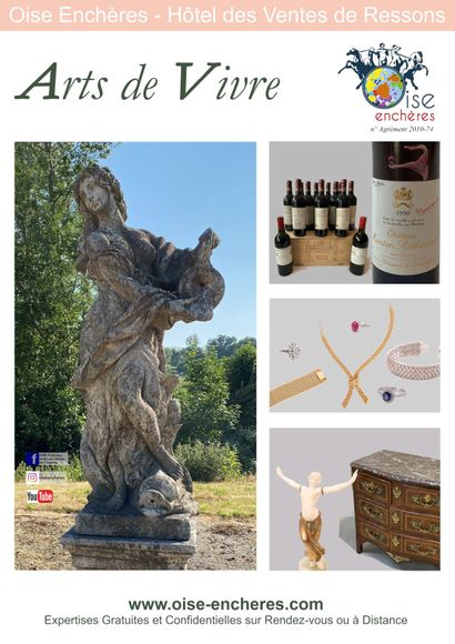 Arts de Vivre : Wines, Jewels, Arts, Decoration and Garden