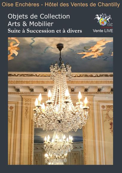 SUCCESSION OF A MAGNIFICENT PARISIAN APARTMENT ARC DE TRIOMPHE AND VARIOUS