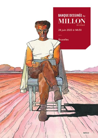 BANDES DESSINEES<br>MILLON BELGIQUE<br>
