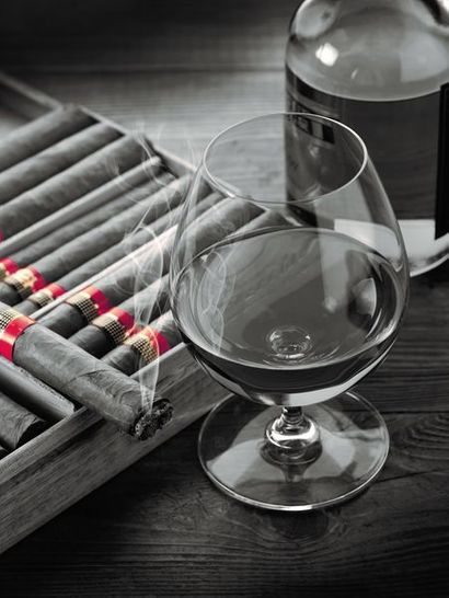 Hemingway of life, cigars, wines and spirits
