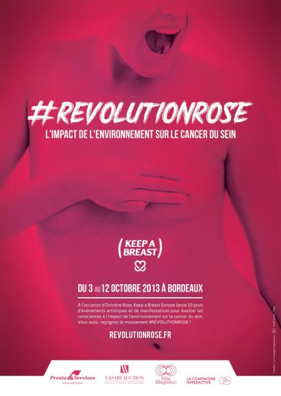 REVOLUTION ROSE - KEEP A BREAST  - VENTE CARITATIVE