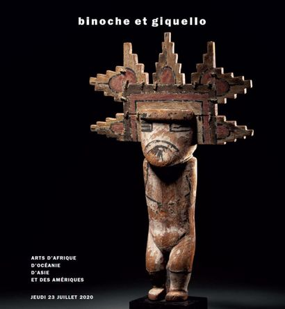 TRIBAL ART  (AFRICA - OCEANIA - AMERICAS - PRECOLUMBIAN ART)