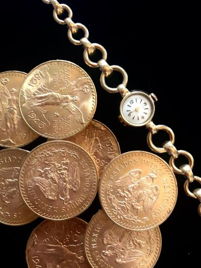 GOLD AND SILVER: GOLD COINS, JEWELLERY, WATCHES, SILVERWARE