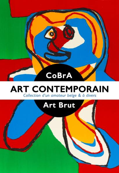 ART CONTEMPORAIN : CoBrA - Art Brut - Pop Art - Collection d'un amateur belge & à divers