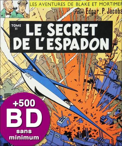 BD DE COLLECTION - IMPORTANT FONDS DE LIBRAIRIE SANS PRIX MINIMUM