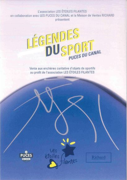 LEGENDS OF SPORT : charity sale for the benefit of the Association Les Etoiles Filantes (Shooting Stars)