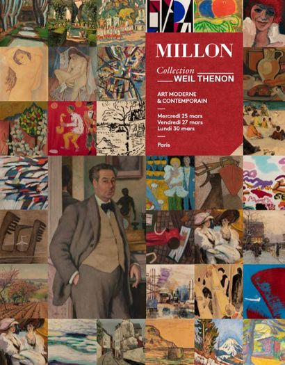 Collection WEIL THENON - UN COUPLE DANS LA LEGENDE DE DROUOT<BR>PANORAMA DES ARTISTES DU XXE SIECLE - PARTIE I<br><br>[Report de la vente du 25 mars 2020]