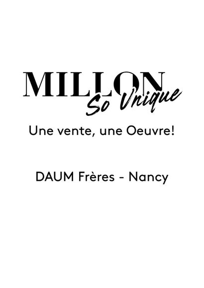 Daum frères - Nancy IS ONE WORK, ONE SALE!