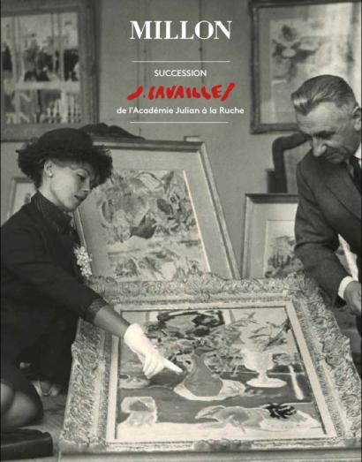 SUCCESSION JULES CAVAILLES, DE L'ACADEMIE JULIAN A LA RUCHE - Le Collectionneur