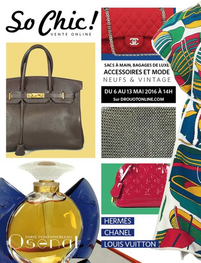 So Chic ! Mode,<br>accessoires et parfums de collection<br>du 6 au 13 mai