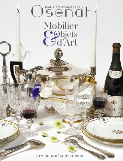 Art de la table, Mobilier & Objets d'Art