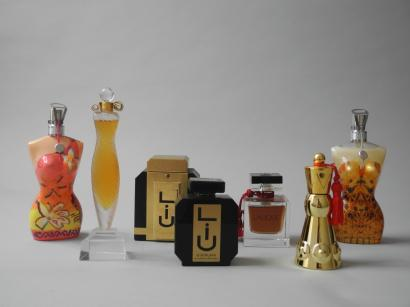 Parfums de consommation et de collection