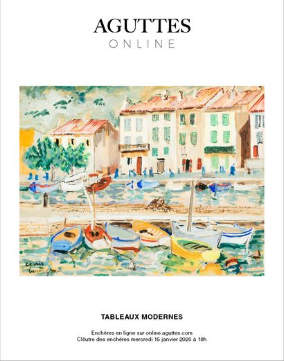 ONLINE ONLY : TABLEAUX MODERNES