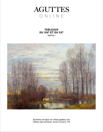 [ONLINE ONLY] XIXTH & XXTH CENTURIES PAINTINGS - PART I