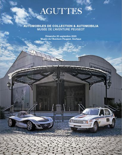 AUTOMOBILES DE COLLECTION & AUTOMOBILIA : MUSÉE DE L'AVENTURE PEUGEOT