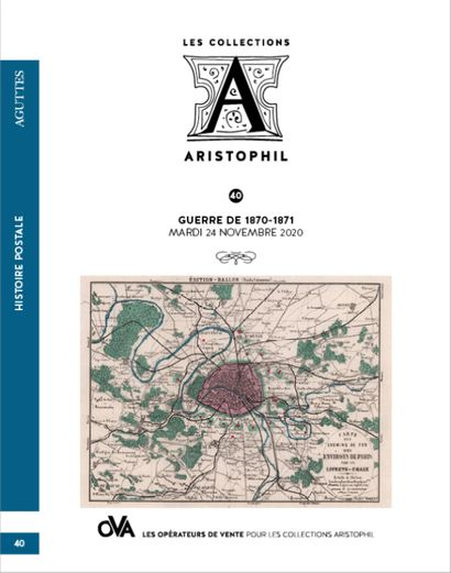 40 • LES COLLECTIONS ARISTOPHIL • HISTOIRE POSTALE