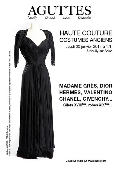 HAUTE COUTURE – COSTUMES ANCIENS
