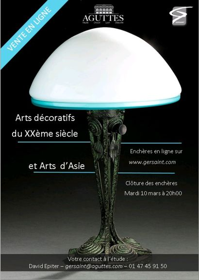 ARTS DECORATIFS & ARTS D'ASIE