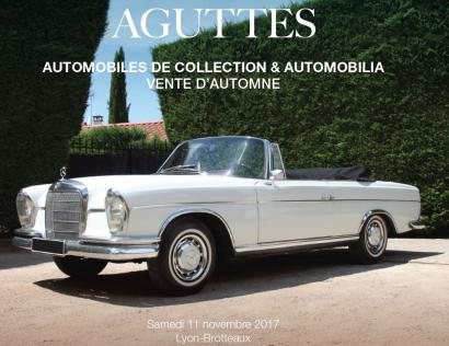 AUTOMOBILES DE COLLECTION & AUTOMOBILIA - VENTE D'AUTOMNE