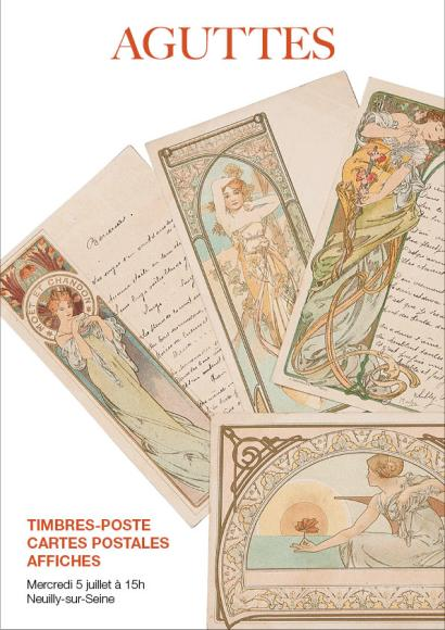 TIMBRES-POSTES, CARTES POSTALES, AFFICHES
