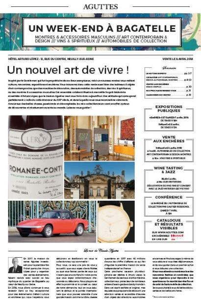UN WEEK-END À BAGATELLE : ART CONTEMPORAIN & DESIGN /// AUTOMOBILES DE COLLECTION /// MONTRES