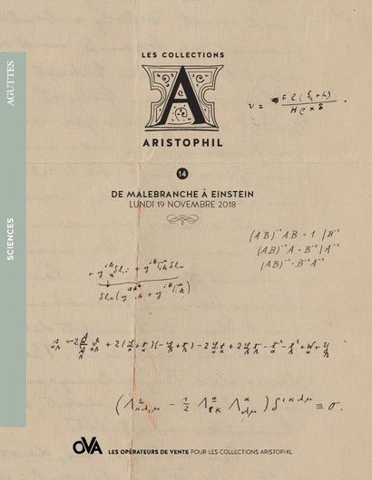 <b>14 • SCIENCES • DE MALEBRANCHE À EINSTEIN</b>   par Aguttes