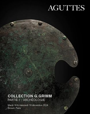 Collection G.Grimm - Partie I : Archéologie - 2e session