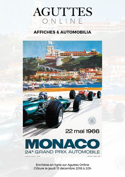 <b> ONLINE ONLY : </ b> AFFICHES & AUTOMOBILIA