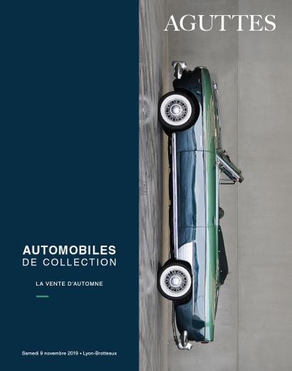 AUTOMOBILES DE COLLECTION : LA VENTE D'AUTOMNE