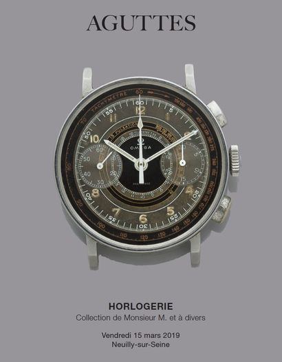 HORLOGERIE : Collection de Monsieur M. et à divers
