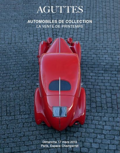 AUTOMOBILES DE COLLECTION - LA VENTE DE PRINTEMPS