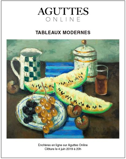 ONLINE ONLY TABLEAUX MODERNES