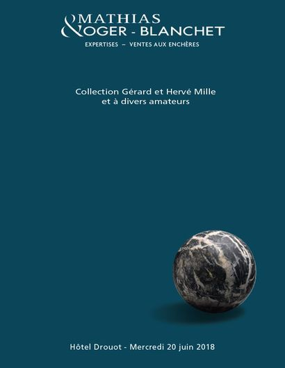 Collection Gérard et Hervé MILLE et à divers amateurs OVV Oger-Blanchet, Jean-Jacques Mathias