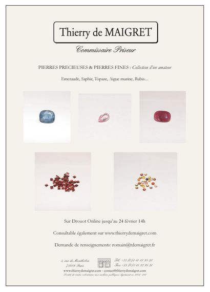 Gemstones and precious stones: an amateur's collection